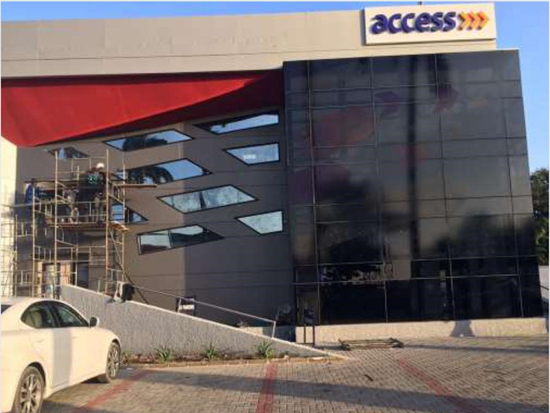 Access bank unilag remodelling